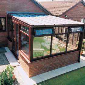 Ultraframe conservatories form Universal